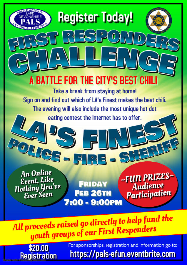 First Responders Challenge Chili Cookoff